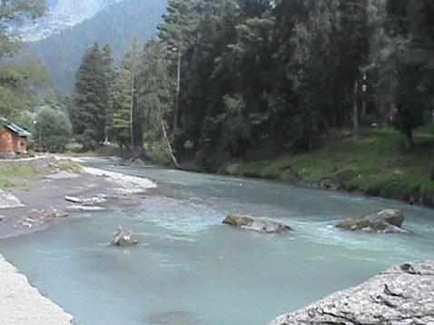 Lidder River @ Pahalgam, Kashmir