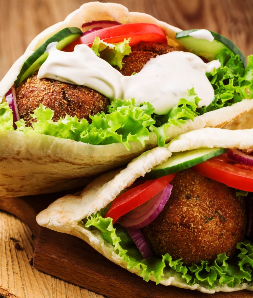 Healthy-Baked-Falafel-Pita